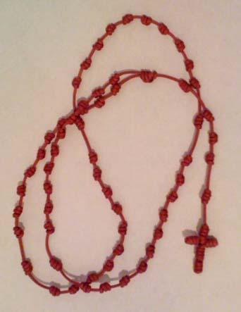 Hand Knotted Rosary from Rwanda