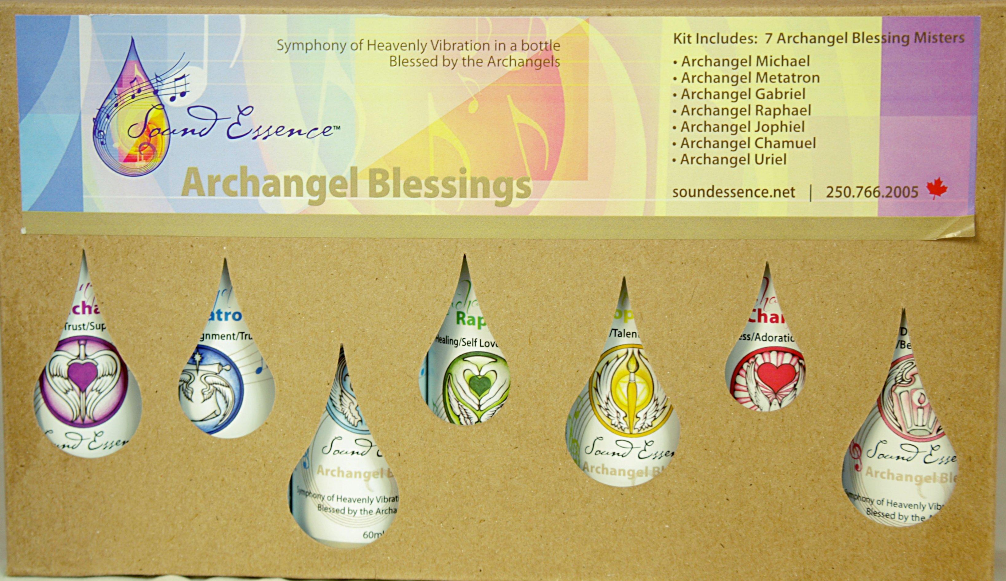 Archangel Blessings Mists Kit - Professional