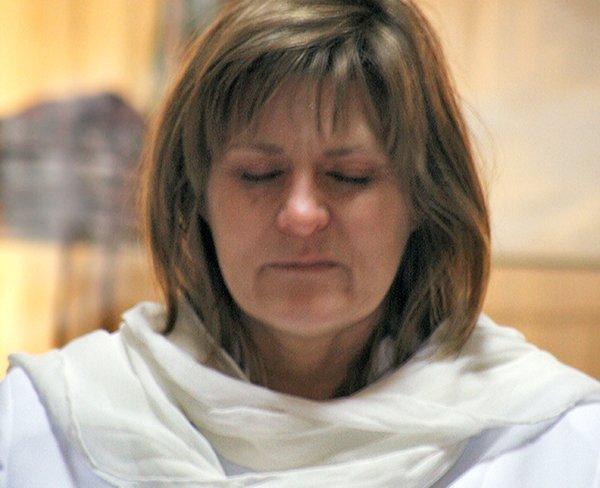 Kimberly in Prayer